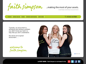 website design elgin, moray