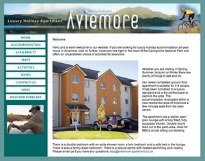 Website Design Moray Speyside Aberlour Elgin